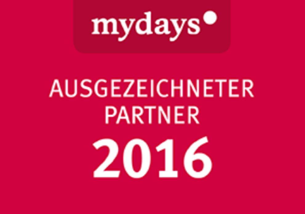 April 2016 Partnership With Mydays